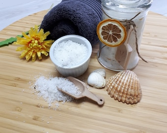Bath salt - lemon and Rosemary