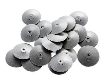 Initial Polishing Taper Edge Wheels Pkg 20 Pcs Grit Medium Jewelry Abrasives WA 100-863