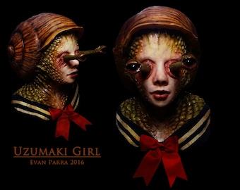 Uzumaki Girl - Professional Latex Display Mask