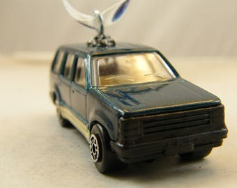 FREE SHIPPING - Anytime Ornament - Ford Explorer - Birthday - Fathers Day - SUV - Moms taxi