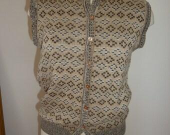 Vintage sweater vest  M/L