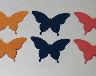 Elegant Butterfly Die Cut Embellishments
