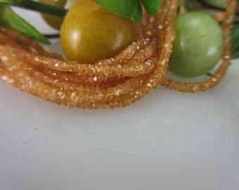 Mandaringranat Strand for stone chain 29.90 Euro Model 3