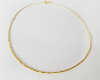 Choker Necklace • Gold Choker Necklace • Gold Choker • Delicate Choker • Dainty Choker • Slim Choker Necklace • Minimalist
