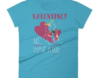 Be My Valentine Cute Golden Retriever Dog T-Shirt short sleeve t-shirt