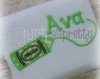 Crayons Scribblers 7 design Set Embroidery Applique Design