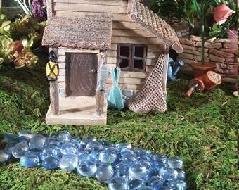 Fairy Garden Lake House, Resin Fairy Garden House For your Fairy Garden, Woodland Fairy House, Rustic Lake House