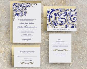 Indian Wedding Invitations, Sangeet Invitations, Indian Event, Indian Reception, Hindu Wedding, Indian Theme, Printable