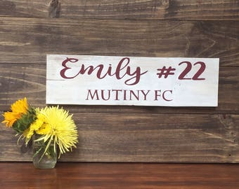 Wooden Sign 6x20