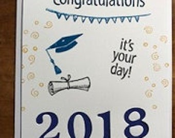 Graduation Congratulations It's your day! Greeting Card