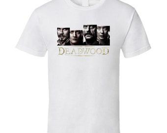 Deadwood Cast And Logo Tv Show Fan T Shirt