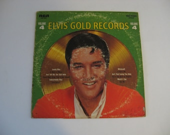 Clearance - Elvis Presley - Elvis Gold Records Volume 4 - Circa 1968