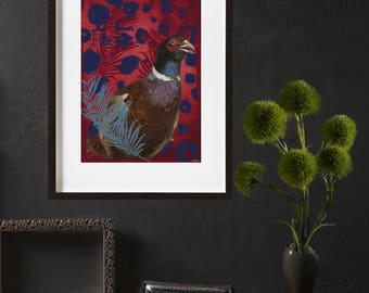 Pheasant Bird poster
