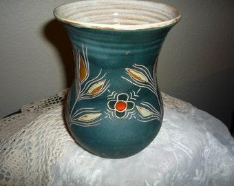 Mid-Century Treimane Pottery Vase