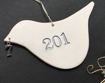 2017 Commemorative Dove Christmas Ornament by Paloma's Nest limited edition