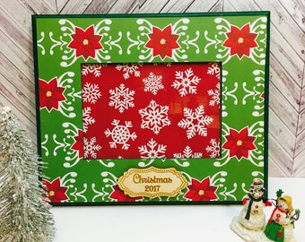 Christmas Frame/Christmas frames/Christmas Picture Frame/christmas decorations/christmas 2017/custom picture frame
