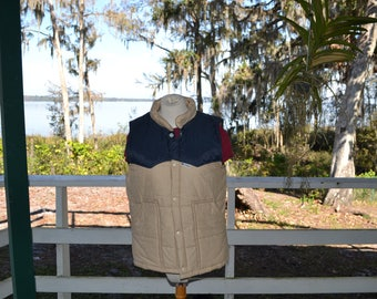 Men's Insulated Vest puffer 2 available