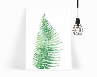 Wall Art,Poster,Prints,Home Decor,Nursery Decor,Art Print,Gift for Her,Gift for Him,Modern Art,Painting,Framed Art,Leaf,Botanical,Handmade