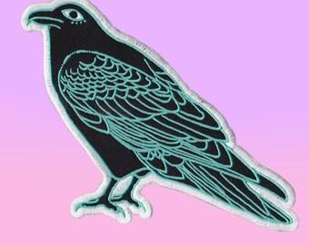 Iron on Bird Patch