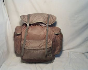 Vintage 1980's Tourist Waterproof Backpack.Brand:KURZ - Mod.12 - WESTERN GERMANY