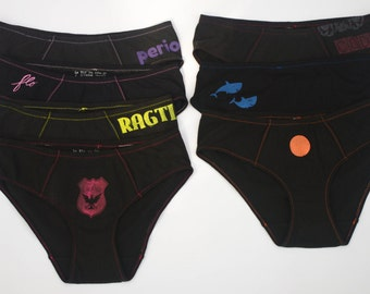 Set of 7 Period Panties Boy-Cut Underwear - Multi-Pack - Made to Order