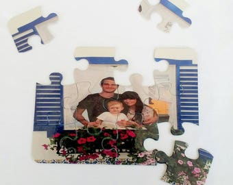 Add your own photo custom jigsaw puzzle, perfect for kids, add a picture and make it your own, add a personal touch and educate children too