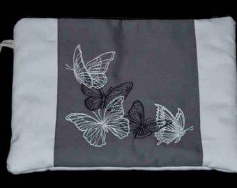 """Quilt Kit """"beautiful flight of butterflies."""