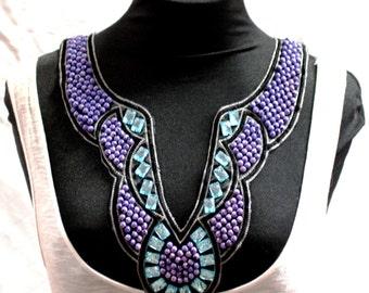 Beaded Sci-Fi Fashion Collar - JR09268