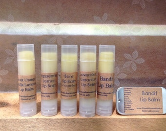 Organic All Natural Lip Balm with Calendula and Essential Oils, dry chapped lips, handmade chapstick, herbal lip balm