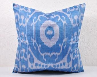 Ikat Pillow, Handmade Ikat Pillow Cover  A123-2AA3, Ikat throw pillows, Designer pillows, Decorative pillows, Accent pillows
