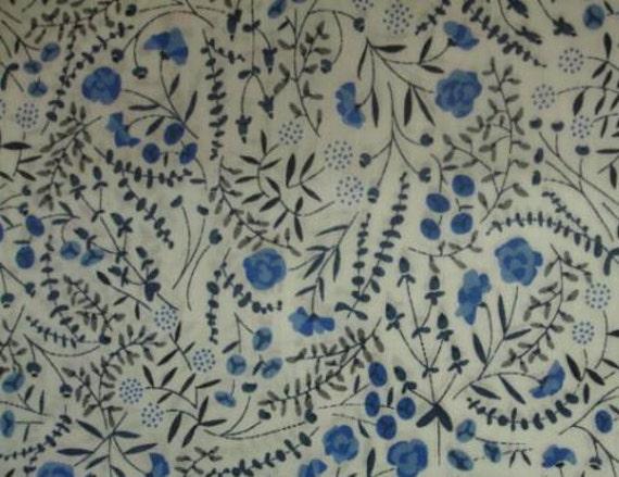 Tana lawn fabric from Liberty of London, Lillian's Berries