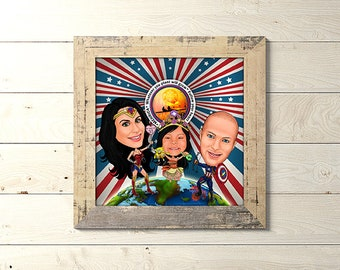 Order A Special Portrait For Your Superwoman Because When Mommy Is Happy Everybody Gifts That Mom Would Love To Receive
