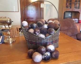 Alpaca Dryer Balls multi-colored