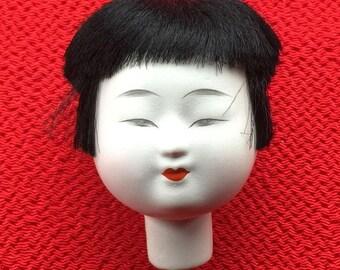 Japanese Doll Head - Hina Matsuri Female Doll Head (D14-1)