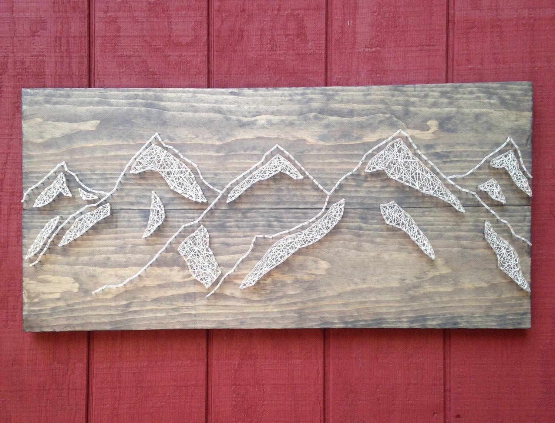zoom LARGE Mountain Range Nail Art Mountains