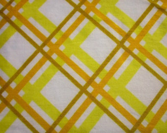 Vintage Sheet Fat Quarter Harvest Stripes