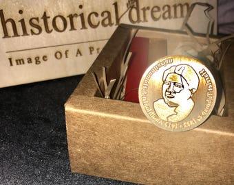 Harriet Tubman Wax Sealer Stamp Set