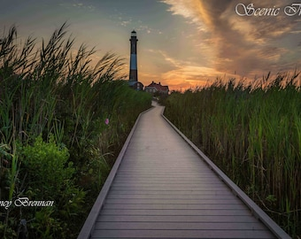 Sunrise at Fire Island Lighthouse 2