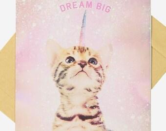 Dream Big - Blank Card