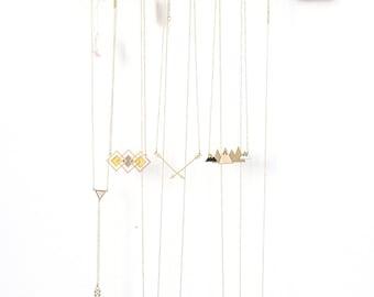 Présentoir à bijoux flèche, organisateur de bijoux, bijoux cintre, porte-bijoux, Design scandinave, décoration en bois
