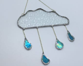 Stained Glass Rain Cloud
