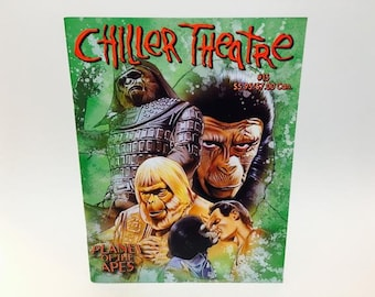 Vintage Magazine Chiller Theatre Magazine #15 Planet of the Apes