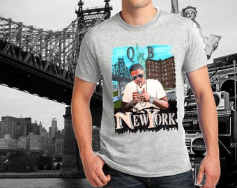 Nas New York Queens Bridge grey