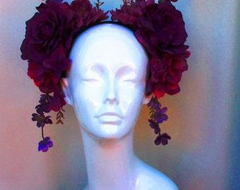 Königin der Feen floralen Kopfschmuck