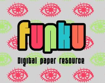 FUNKU - Digital scrapbooking papers