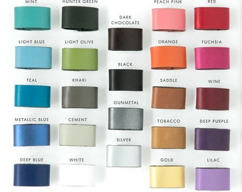 Additional Accent Color Bands for your JudyKayeNY Cuff!