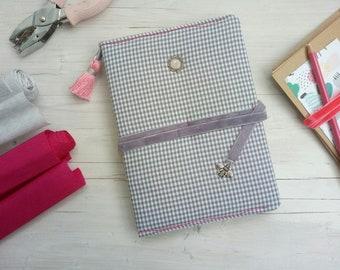 Writing journal -Personalised notebook - Bujo - Dot grid notebook - Bullet journal notebook - Custom gifts