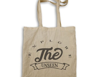 Explore the unseen Tote bag v994r