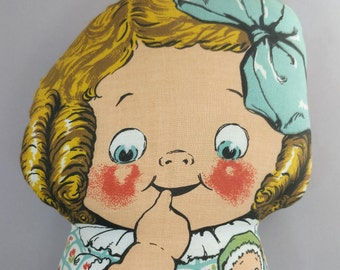 Dolly Dingle Doll, from Dean's Kockabout Rag Toy Series, England