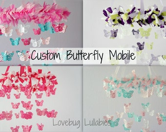 DESIGN Your Own BUTTERFLY Mobile